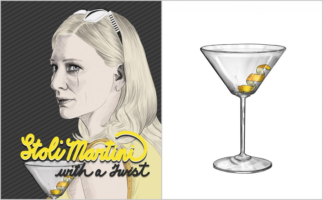 Stoli Martini With A Twist Recipe - Cate Blanchett