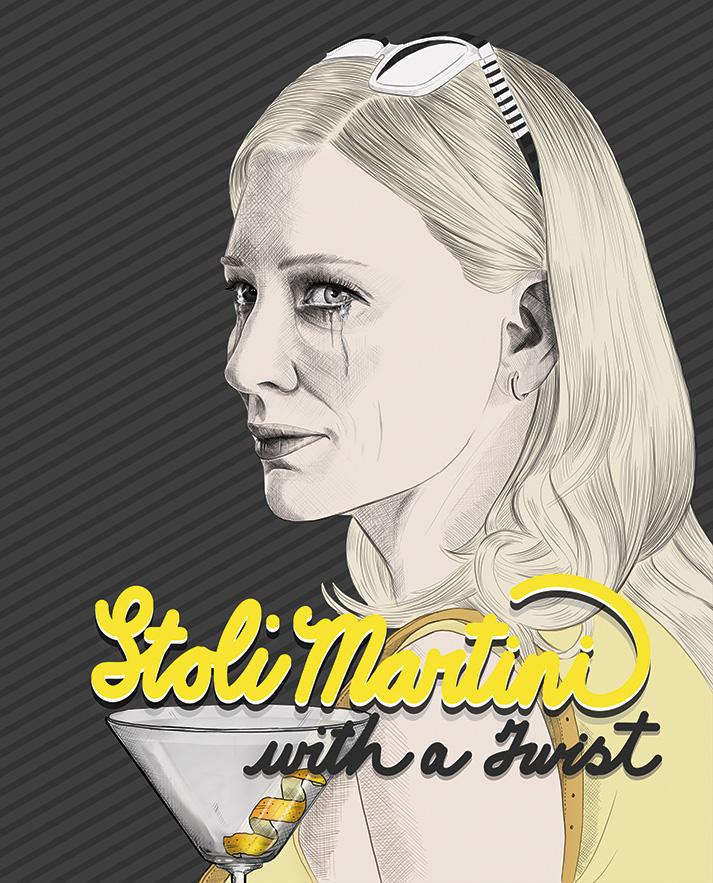 Stoli Martini With A Twist - Cate Blanchett