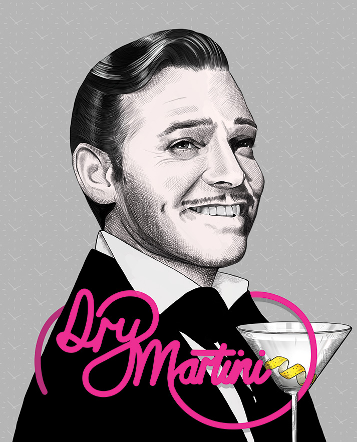 Dry Martini - Clark Gable