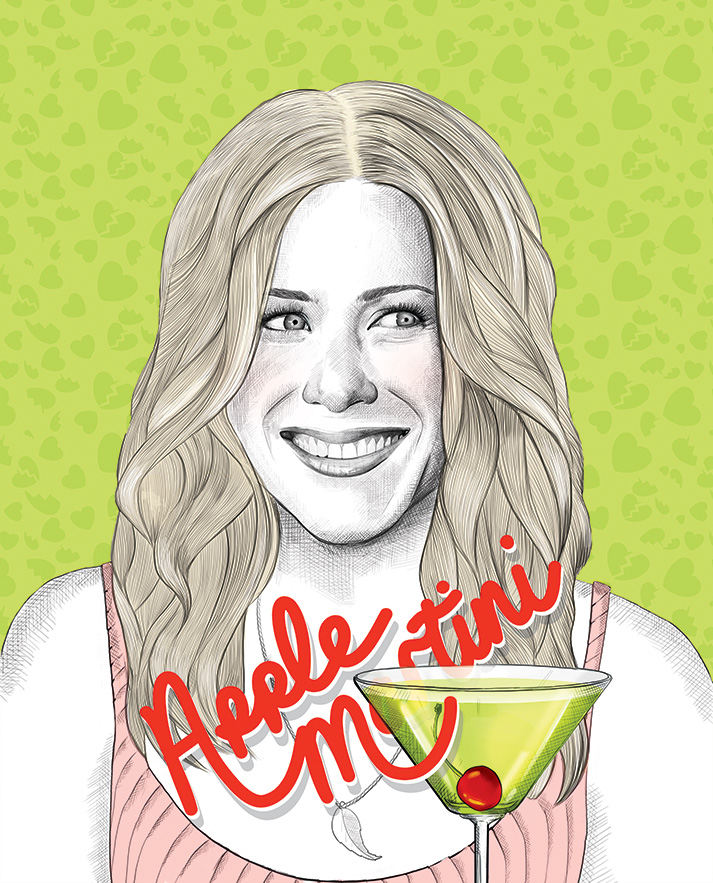Apple Martini Recipe | Jennifer Aniston | The Break Up