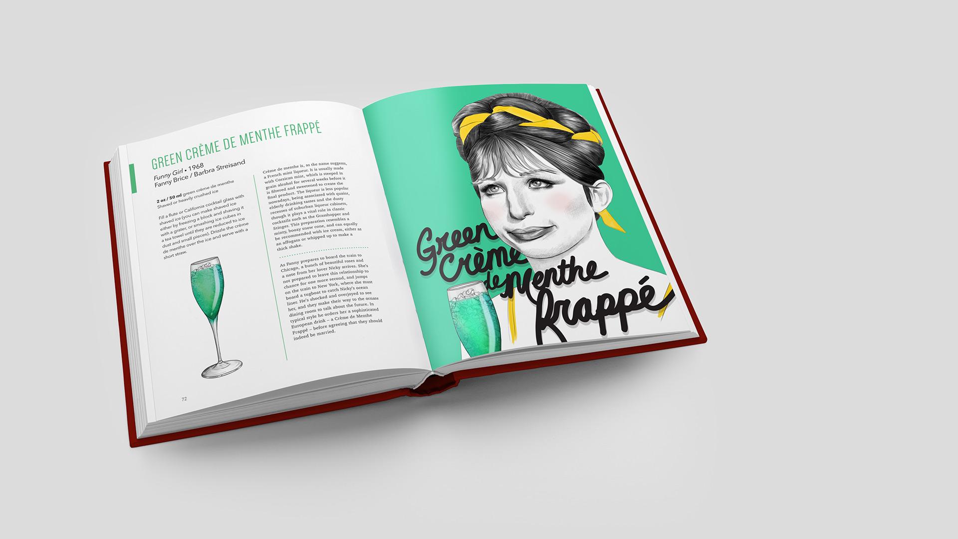 Green Creme de Menthe Frappe