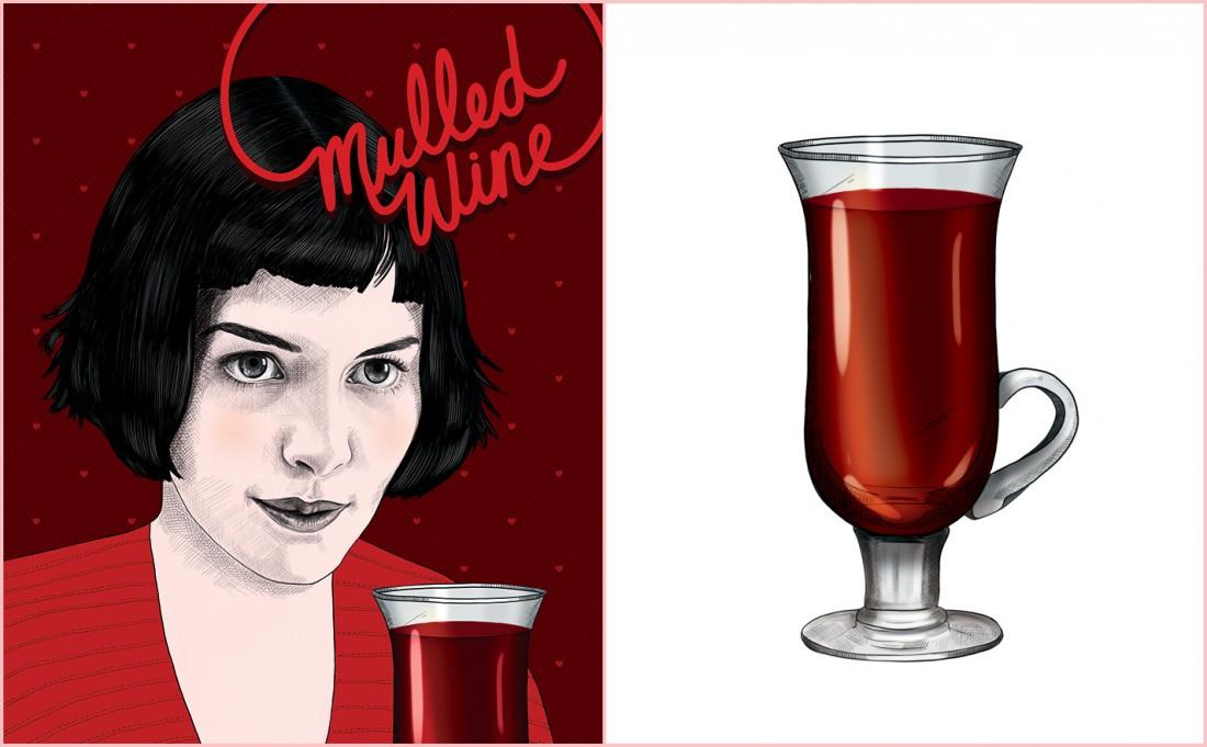 Mulled Wine Recipe - Audrey Tautou - Amélie