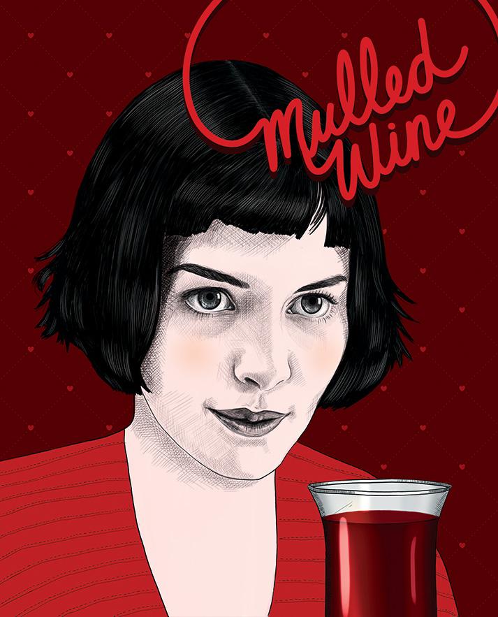 Mulled Wine - Audrey Tautou - Amélie