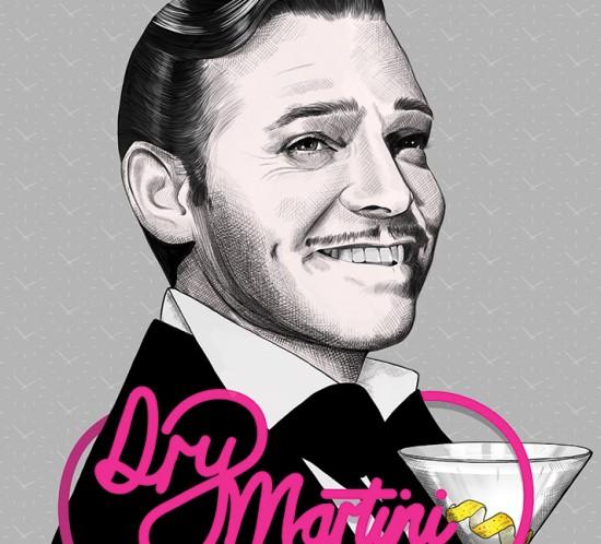 Dry Martini - Clark Gable