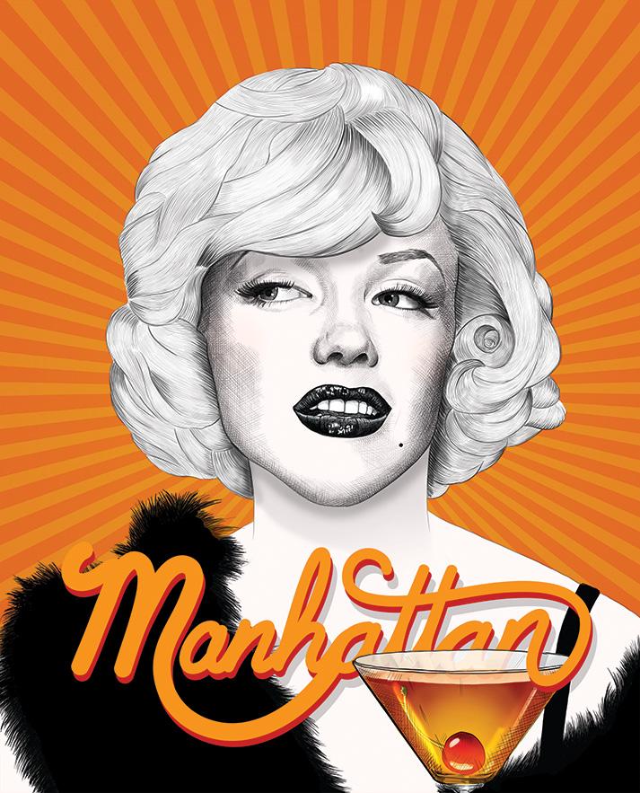 Manhattan - Marilyn Monroe - Some Like It Hot