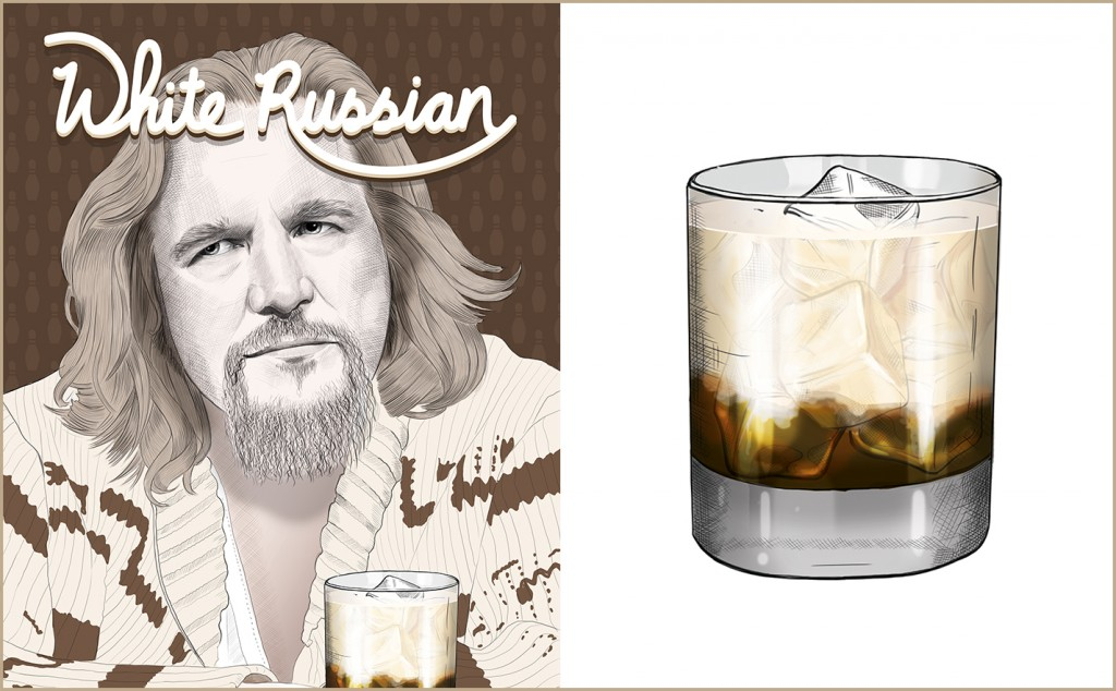 White Russian Cocktail - The Big Lebowski